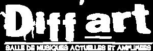 logo diffart blanc