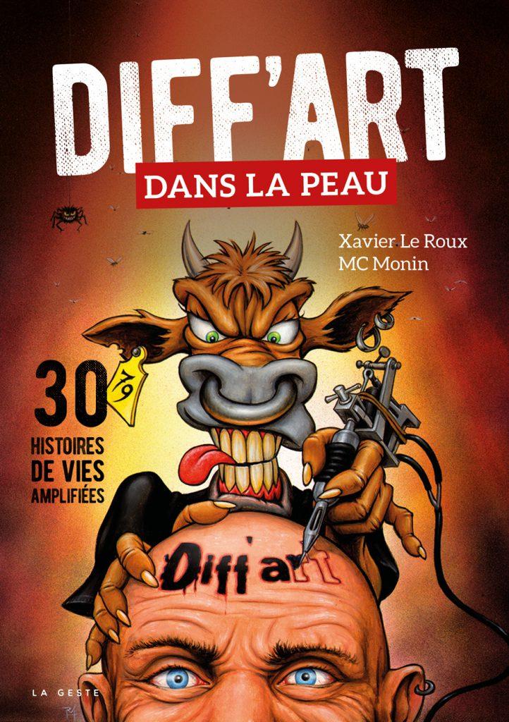 Couverture du livre Diff'art 30 histoires de vies amplifiées
