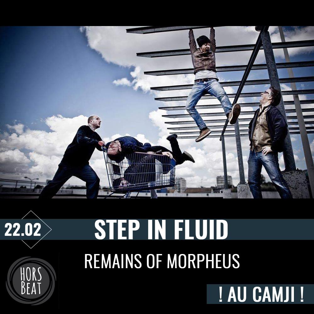 concert step in fluid